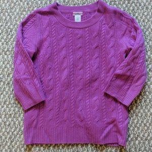 100% cashmere J Crew sweater